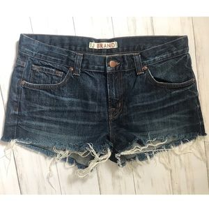 J Brand Cut Off Shorts in Siam size 27